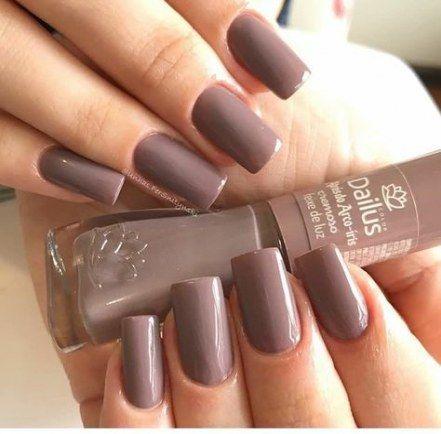 Nails brown design essie 41 Ideas