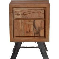 Nachttische Nachtschranke Nachtkonsole Aus Akazie Massivholz Metall Mobel Exclusivemobel Exclusive In 2020 Bedside Table Bedside Table Set Union Rustic