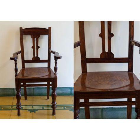 Buy Easy Chair Standard Chettinad Teak Wood Furniture Pc 15568 Teak Wood Furniture Teak Wood Wood Furniture