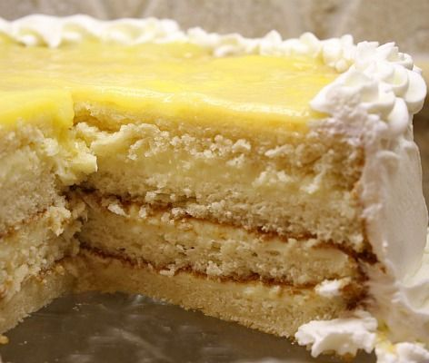 Lemon Truffle Cake #recipe