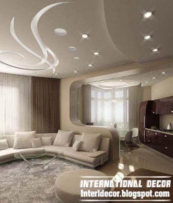 modern false ceiling design ideas for living room with modern ...