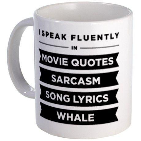 I Speak Fluently In 11 oz Ceramic Mug