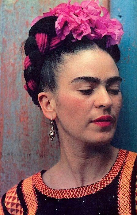 frida kahlo paintings portraits Vogue Photograph - Colourful Frida Kahlo Portrait For Vogue by Arty Fame Diego Rivera, Nickolas Muray, Frida Kahlo Portraits, Arte Van Gogh, Kahlo Paintings, Edward Weston, Man Ray, Wedding Headband, Mexican Art