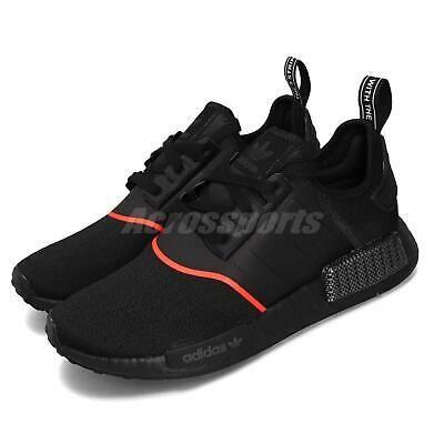 adidas Originals NMD_R1 Boost Black Solar Red Men Casual