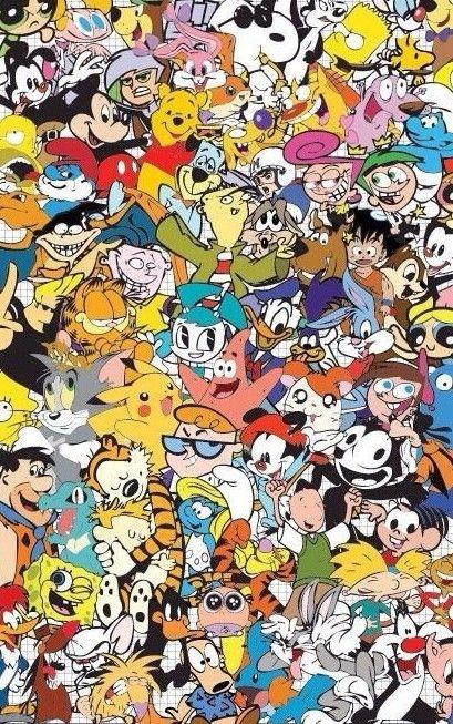 Wallpaper Desenho Animado Fondo De Pantalla De Dibujos Animados Fondos De Pantalla Caricaturas Fondo De Pantalla Animado