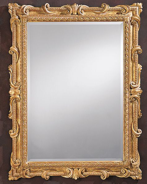framed mirror image - Google Search | Mirror, Gold framed mirror ...