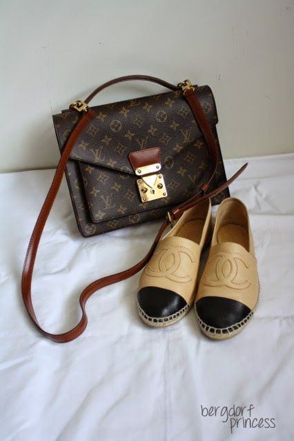 a stroke of fabulosity  vintage find  vintage louis vuitton monogram m. 7f9f433a85f0b