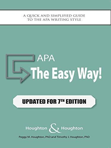Download Pdf Apa The Easy Way Updated For The Apa 7th Edition