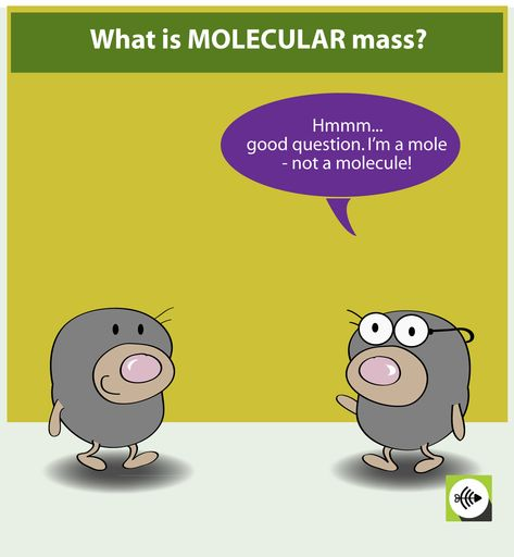 Molecular mass is the mass of 1 MOLECULAR of substsance. Determine what the weight of the substance is. Determine what is the molar mass of the substance – the mass in 1 mole. Divide the molar mass by Avogadro's constant to get the mass in 1 molecule.