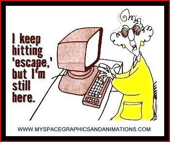 Cartoon Escape Key Jpg Funny Quotes Work Humor Humor