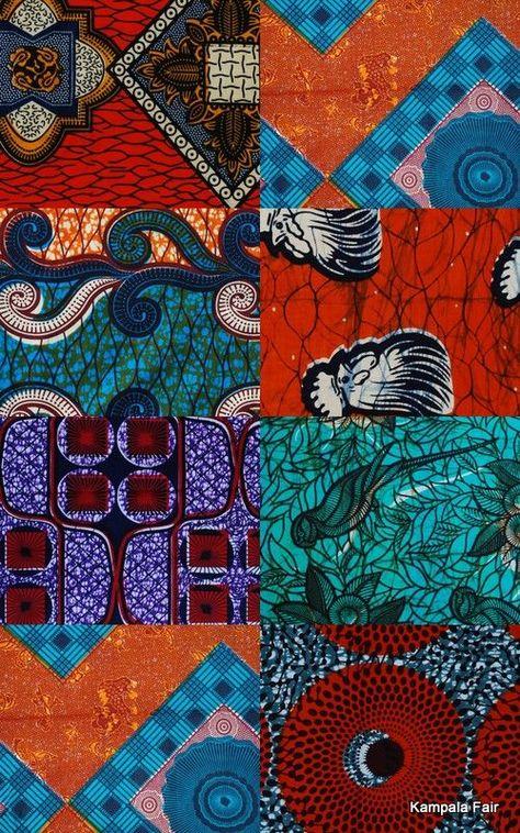 we love african print fabric from Uganda