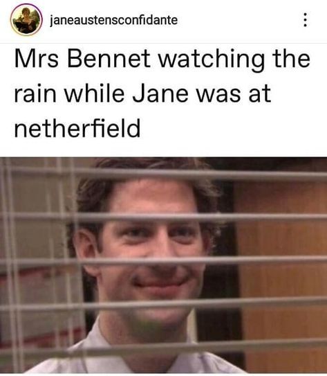 "Pride and Prejudice Memes on Instagram: ""What a mother 🤦 #prideandprejudicememes #janeausten #janeaustenmeme #prideandprejudicefunny #prideandprejudice #mrsbennet #officememes…"" Mrs Bennet, Instagram Story, Instagram Posts, Facial Recognition, Good Humor, Hockey Mom, Stupid Funny Memes, Funny Pins, Hilarious"
