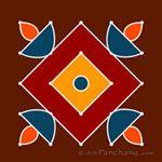 5x5 Dot Rangoli Designs | 5x5 Dot Kolam Designs | 5x5 Dot Muggu Designs | 5x5 Dot Alpana Designs