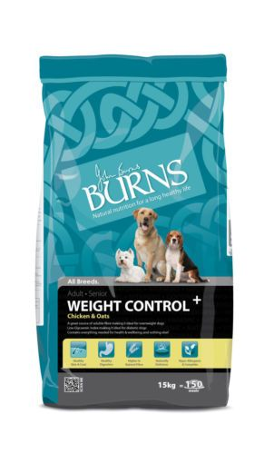 Burns Weight Control Chicken Oats 15kg For Overweight Or