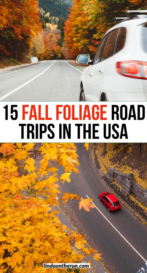 15 Best Fall Foliage Road Trips And Drives In The USA - Linda On The Run