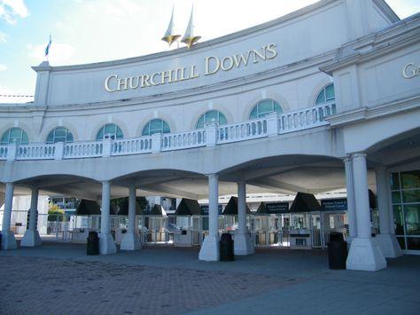 Churchill Downs and the Kentucky Derby Museum in Louisville Kentucky
