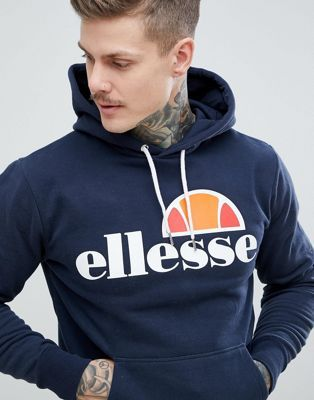 9a2fa837 Ellesse hoodie with classic logo in navy in 2019 | INVIERNO 2018 ...