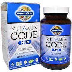فيتامين كود للرجال أفضل 5 أنواع فيتامين كود للرجال من Iherb مشترياتي من اي هيرب Whole Food Multivitamin Vitamin Code Garden Of Life Vitamins
