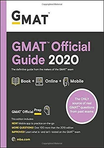 Gmat Official Guide 2020 Book Online Question Bank Guide Gmat Official Question With Images Gmat Official Guide This Or That Questions Gmat