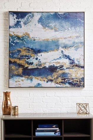 Buy Galaxy Framed Canvas From The Next Uk Online Shop Cheapwallarts Com Buy Galaxy Framed Canvas From The Next Galaxy Painting Canvas Wall Art Canvas Frame
