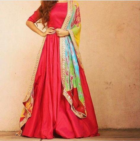 Indian Anarkali salwar suit gown lehenga choli salwar suit | Etsy
