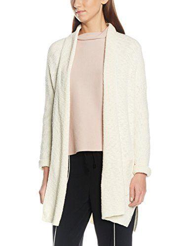 Marc O Polo Damen Strickjacke 701605461227 Elfenbein Desert Wind 139 Medium Fashion Cardigan Sweaters