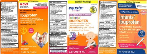 Infants' Ibuprofen recall - WSIL-TV 3 Southern Illinois