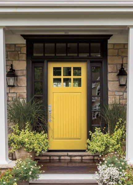 Photo Of Pella Window Door Showroom Of Atlanta Atlanta Ga United States Entry Doors Yellow Front Doors Entry Door Colors