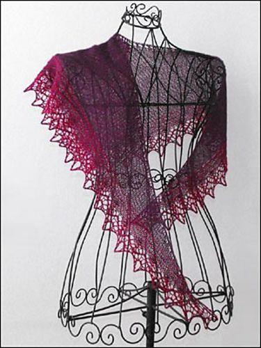 Tuch Shawl Landzauber Pattern By Birgit Freyer Tejidos