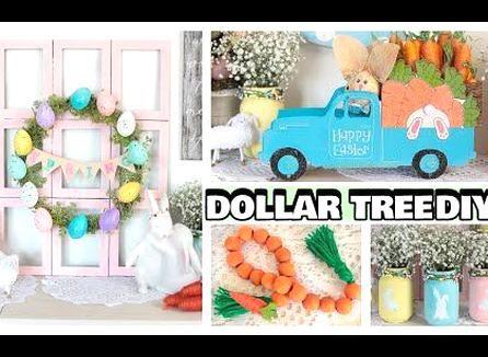 Dollar Tree Easter Diys 2020 Youtube In 2020 Easter Diy Diy Easter Decorations Easter Craft Decorations