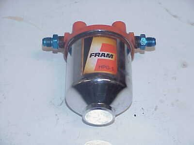 [DIAGRAM_1CA]  Sponsored eBay) Fram Remote Fuel Filter Chrome Housing & Filter HPG-1 with  -06 AN Fittings GG A1 | Ebay, Chrome, Filters | Fram Fuel Filter Housing |  | Pinterest