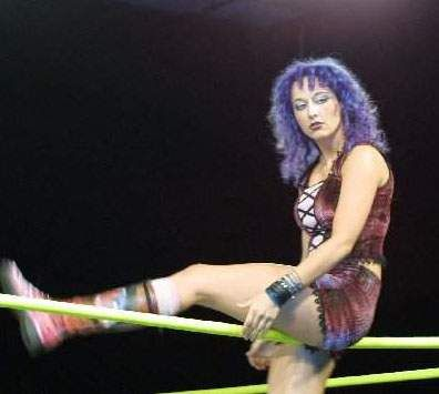 Fuji Cakes aka Melody, the longest reigning OVW Women's Champion