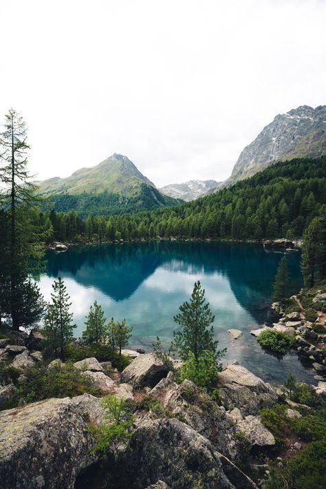 Lago die Saoseo, Switzerland