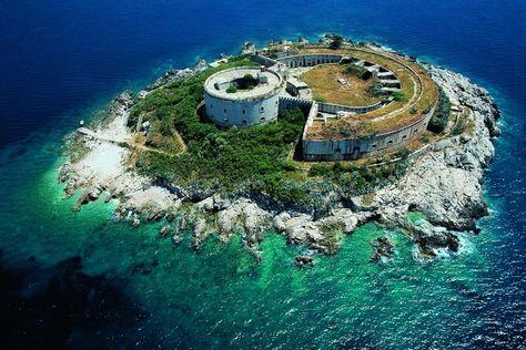 Fort Mamula - Abandoned island prison in Montenegro