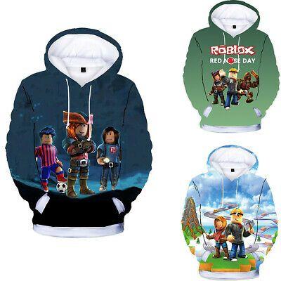 Sponsored Ebay Boys Girls Roblox Kids 3d Printing Hoodie