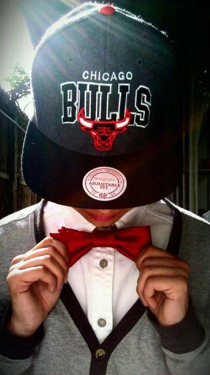 😍😰🙌Just Looking Sexy in Chicago Bulls Hat pretty boy swag