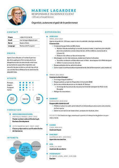 Cv En Ligne Cv Designer Modele Cv Cv Moderne Cv Canadien