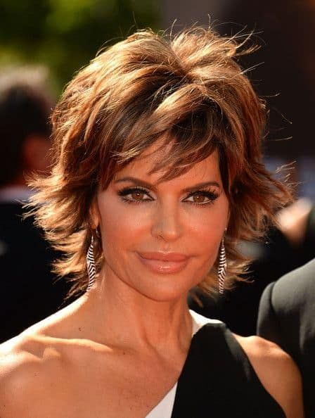 How To Get Lisa Rinna S Hairstyle Step By Step Tutorial Lisa Rinna Haircut Lisa Rhinna Hairstyles Lisa Renna Hairstyles
