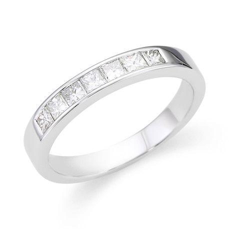 Channel Set Wedding Rings Andrews Jewelers Buffalo NY