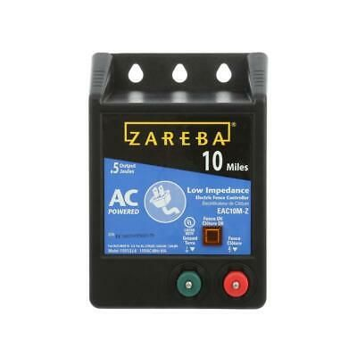 Details About Zareba Low Impedance Energizer 10 Mile Fencing 115 Volt Output In 2020 Electric Fence Energizer Electric Fence Fence Charger