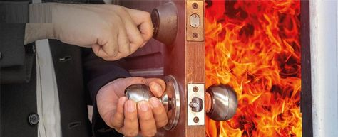 Fire Door Safety Is Your Property Protected Landlords Should Not Underestimate Their Legal Responsibilities When It Being A Landlord Fire Doors Fire Safety