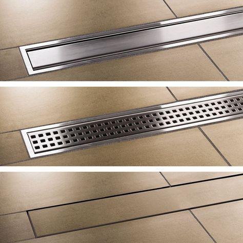 Kerdi Line Drain With Images Floor Drains