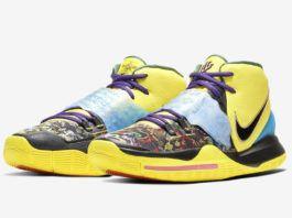 Nike Kyrie 6 Chinese New Year Yellow Cd5029 700 Release Date Info En 2020 Arte