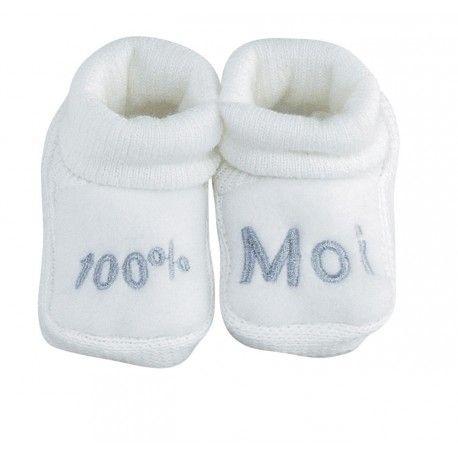 618cf18edfd96 Affirmez le caractère unique de bébé dès sa naissance grâce à ces chaussons  tout doux !  chaussons  bébé