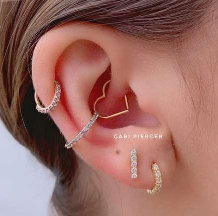 Pin En Piercings