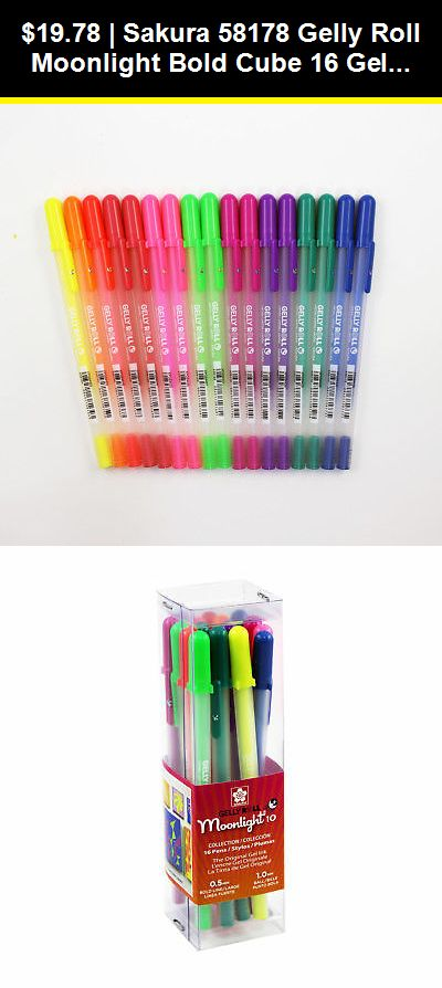 Sakura GELLY ROLL MOONLIGHT 10 Art Pen 10 pc set #38176 pens Brand NEW!