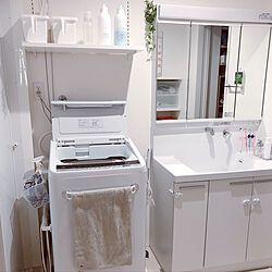 日立洗濯機 Toto 洗面台 洗濯機 House Towel Scope House Towel などのインテリア実例 2020 06 13 13 42 30 Roomclip ルームクリップ 2020 パウダールーム デザイン インテリア 実例 Toto 洗面台