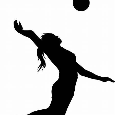 Girl Playing Volleyball Clipart Volleyball Clipart Clip Art Americana Decor