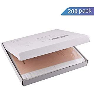 Ktrio Sheet Protectors 3 Hole Office Clear Plastic Page Protectors Top Loading Paper Protector Letter Size 8 5 X Stamp Storage Binder Pockets Sheet Protectors