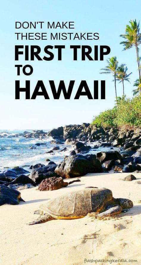 First trip to Hawaii in Things you shouldn& do Oahu . - First trip to Hawaii in Things you shouldn& do Oahu Maui Kauai Big Island Hawaii trave - Beach Vacation Tips, Hawaii Vacation, Hawaii Travel, Beach Trip, Travel Usa, Vacation Spots, Italy Travel, European Vacation, Texas Travel